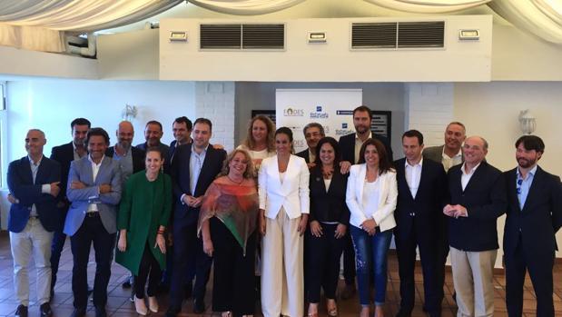 Integrantes del foro de debate de Energyhub en la capital grancanaria