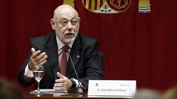 José Manuel Maza,, fiscal general del Estado