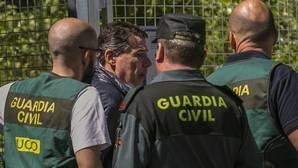 Ignacio González es trasladado desde la Comandancia General de la Guardia Civil en Tres Cantos (Madrid) a la Audiencia Nacional