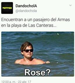 Los canarios se burlan con sus memes del accidente del ferry de Naviera Armas