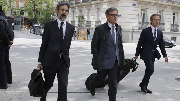 Jordi Pujol Ferrusola acude a la Audiencia Nacional