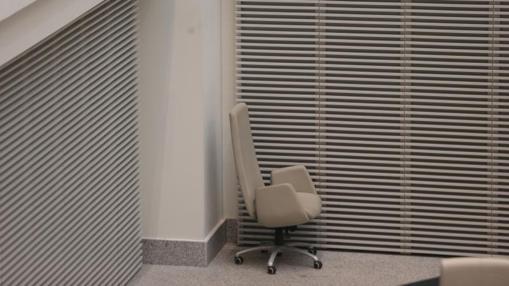 La silla sobrante de la bancada popular, que ha quedado arrinconada
