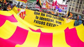 Imagen de la manifestación celebrada el pasado año en Valencia