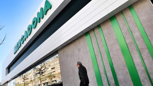 Imagen de un supermercado de Mercadona en el Puerto de Sagunto