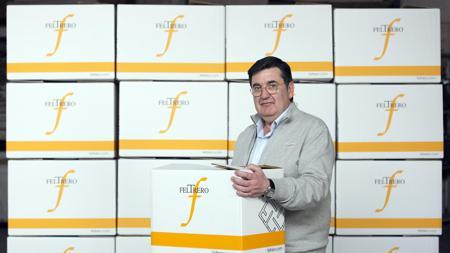 El presidente del grupo Feltrero, Juan Luis Feltrero