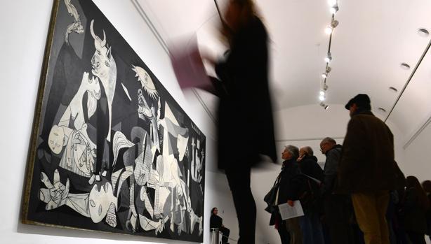 El «Guernica» está expuesto en el Museo Reina Sofía de Madrid