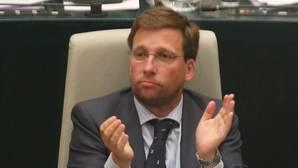 Martínez Almeida, nuevo portavoz del PP en Cibeles tras la dimisión de Aguirre