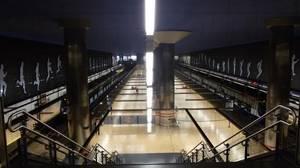 El Wanda Metropolitano y su gigantesca estación de Metro