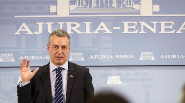 El lendakari Iñigo Urkullu