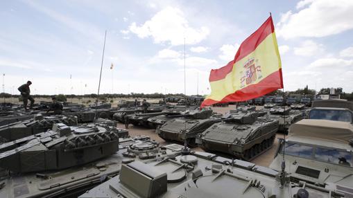 España desplazará un total de 80 vehículos
