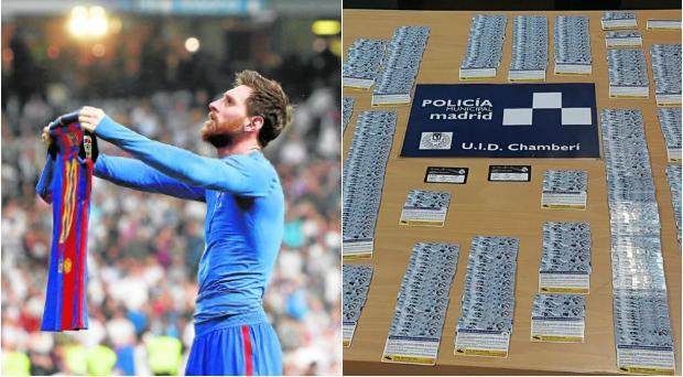 Hemeroteca: Golpe policial a los socios del Real Madrid: pierden el carné por revenderlo contra el Barcelona | Autor del artículo: Finanzas.com