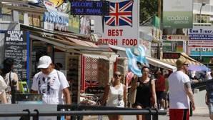 Zona de Benidorm frecuentada por turistas británicos
