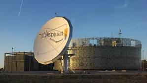 Centro de control del operador Hispasar, organizador del concurso
