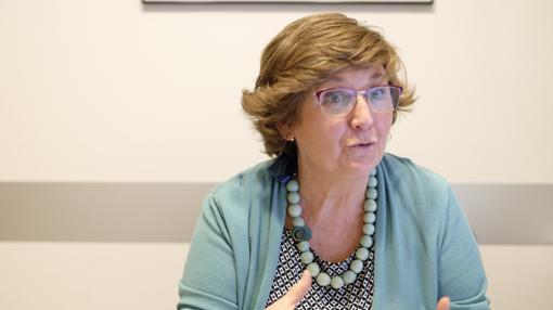María Luisa Lobete, gerente de la Junta Provincial de la AECC de Valladolid