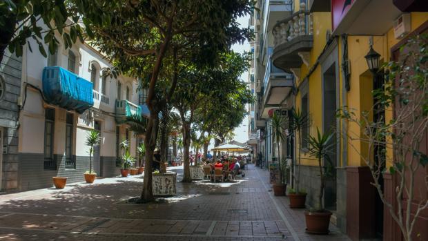 Calle Prudencio Morales, en la capital grancanaria