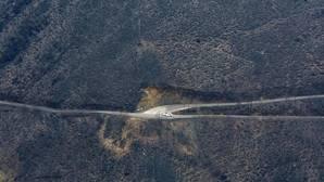 El incendio de la Tebaida berciana afectó a varias localidades del municipio