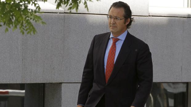 esús Gómez, a su llegada a la Audiencia Nacional