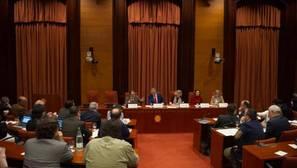 Comparecencia de Artur Mas en una de las comisiones del Parlamento de Cataluña