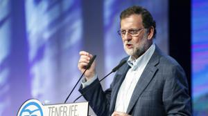 Mariano Rajoy clausura el VIII Congreso Insular del PP de Tenerife