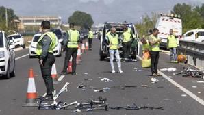 Imagen de la carretera en la que se ha producido el atropello mortal en Oliva