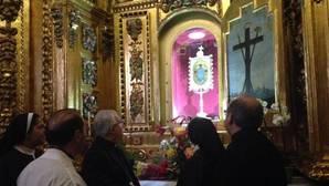 Imagen del monasterio de la Santa Faz de Alicante, después de descubrir los hechos este domingo