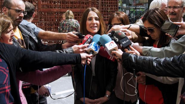 La presidenta del Parlamento vasco, Carme Forcadell