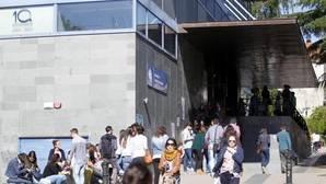 Estudiantes de la Universidad de Santiago de Compostela
