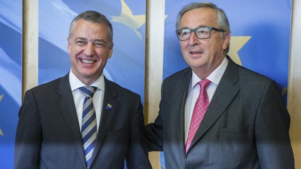 Urkullu pide a Juncker más peso para las naciones sin Estado