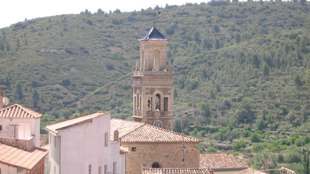 Vista exterior de la iglesia de Teresa