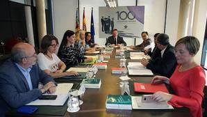 Imagen del pleno del Consell reunido este viernes en Feria Valencia