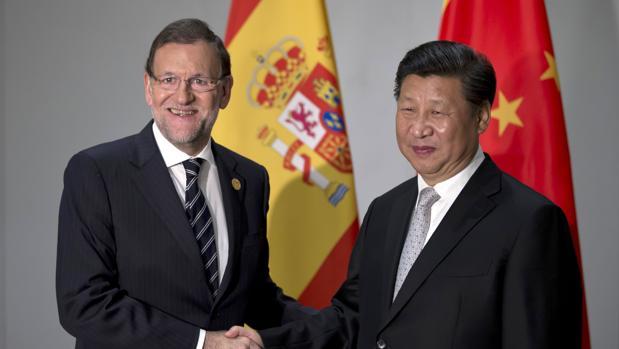 Mariano Rajoy con el Presidente de la República China, Xi Jinping