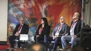 Algunos de los ponentes en el seminario organizado por la Fundación Kasparov