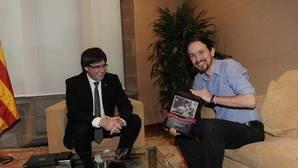 Iglesias arropará a Puigdemont en el acto por el referéndum