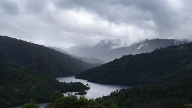 Panorámica de la Ribeira Sacra desde el concello lucense de Chantada