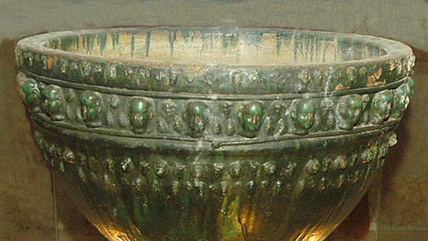 La Pila Verde fue traída de Andalucía a Gáldar en 1485 por Pedro de Vera