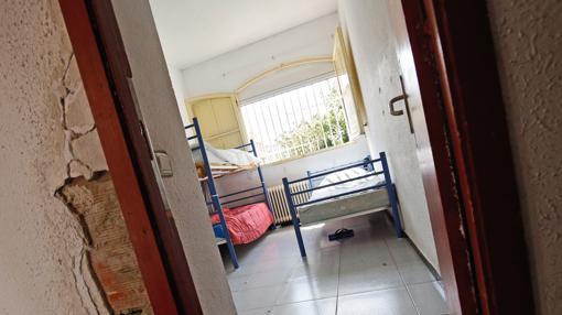 Imagen tomada en el centro de menores de Monteolivete