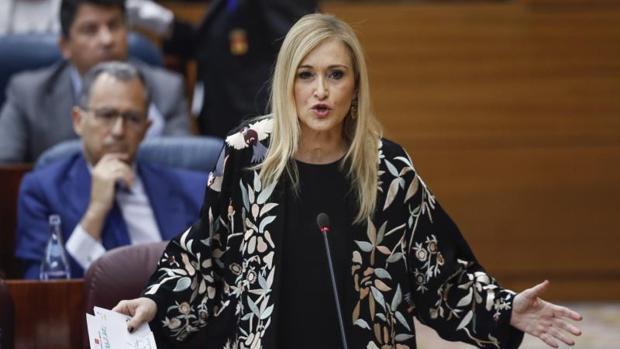 La Guardia Civil pide investigar a Cristina Cifuentes