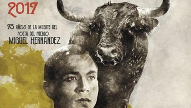 Detalle del cartel de la feria de Hogueras
