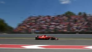 Imagen de uno de los bólidos de Ferrari