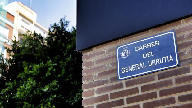 Imagen de la actual calle General Urrutia