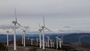 Parque eólico Madero I y Madero II en la localidad soriana de Ólvega