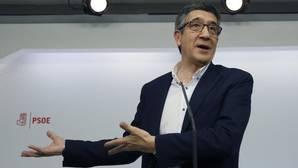 Patxi López, candidato a liderar el PSOE