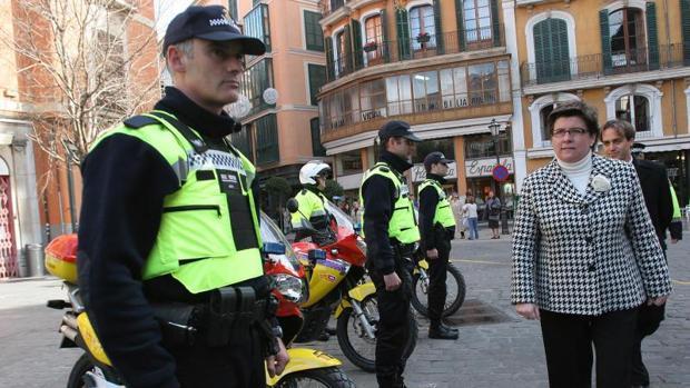Policía Local en Mallorca