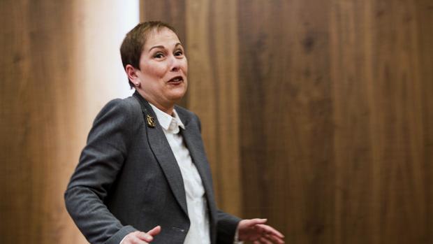 La presidenta del Gobierno de Navarra, Uxue Barkos, en una imagen reciente