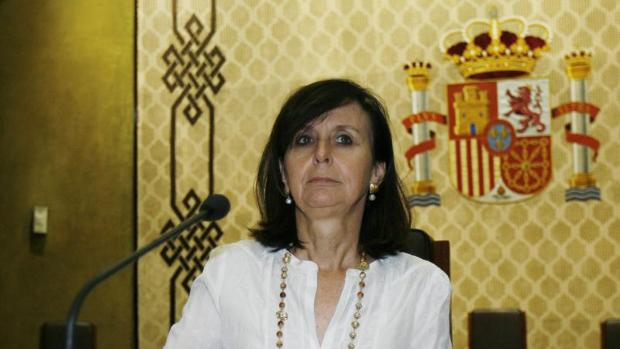La expresidenta del Tribunal Constitucional María Emilia Casas