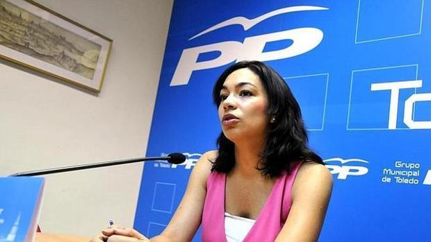 La diputada Claudia Alonso ha preguntado en las Cortes por El Corte Inglés