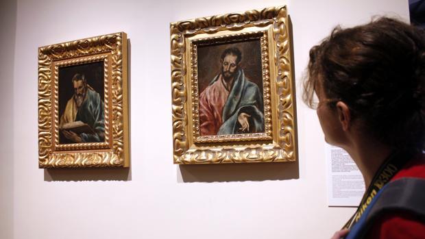 Los dos cuadros del 'apostolado de Arteche'