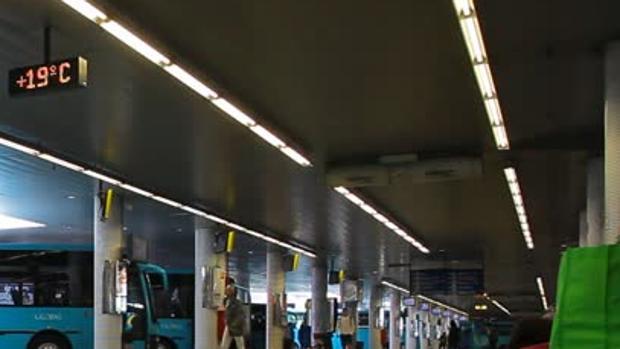 Estación de Guaguas de San Telmo, en la ciudad de Las Palmas