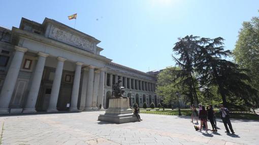 El Museo del Prado, uno de los más visitados de Madrid