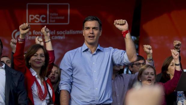 Sánchez, recientemente en un acto en Sabadell